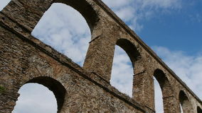 Almuñecar Timelapseaquaduct stock footage
