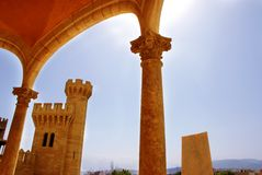 Almudaida Palace Royalty Free Stock Images