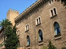 Almudaina Castle Stock Image