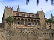Almudaina Palace. S'Almudaina Palace/Castle in Palma de Mallorca Stock Images