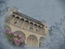 Almudaina palace Royalty Free Stock Photos