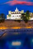 Almudaina Palace in Palma de Mallorca Majorca Stock Photos