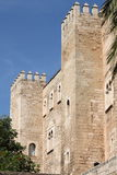 Almudaina Palace in Palma de Mallorca Stock Photography