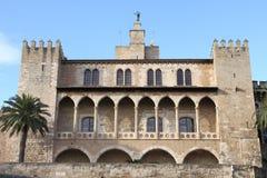 Almudaina Palace in Palma de Mallorca. Spain Royalty Free Stock Photography