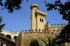 Almudaina Palace in Palma de Mallorca Stock Image