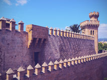 Almudaina Palace in Palma of Majorca Royalty Free Stock Photos