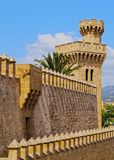 Almudaina Palace in Palma of Majorca Stock Photography