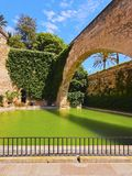 Almudaina Palace in Palma of Majorca Royalty Free Stock Photography