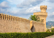 Almudaina Palace Royalty Free Stock Photography