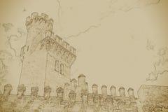 Almudaina palace Stock Images