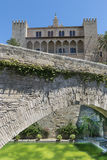 Almudaina palace in Mallorca , Spain Stock Images
