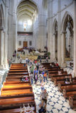 Almudena的维尔京的宽容大教堂 免版税库存图片