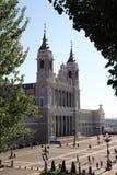 Almudena,宽容大教堂在马德里,西班牙 免版税库存图片