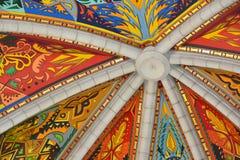 Almudena,马德里,西班牙大教堂  库存照片