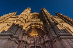 almudena catedral de la 图库摄影