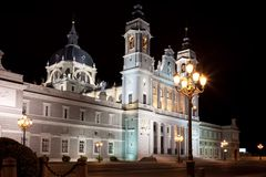 Almudena Cathedral Stock Photography