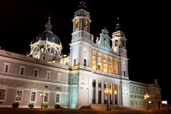 Almudena Cathedral Royalty Free Stock Image