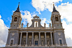Almudena Cathedral, Madrid Royalty Free Stock Image