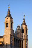 Almudena Cathedral in Madrid Royalty Free Stock Photos