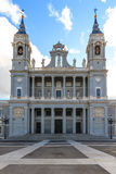 Almudena Cathedral, Madrid Image stock
