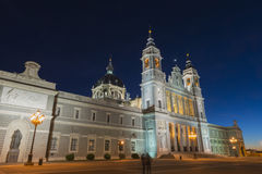 Almudena Cathedral, Madrid Stock Image