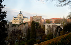 Almudena Cathedral, Madrid Immagine Stock Libera da Diritti