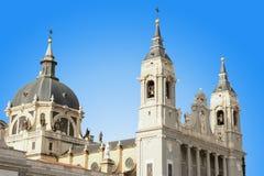 Almudena cathedral Stock Photos