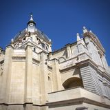 Almudena Cathedral Royalty Free Stock Photos