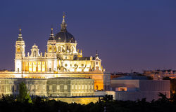 Almudena Cathedral Madrid Royalty Free Stock Images