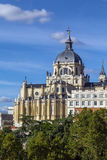 Almudena Cathedral, Madrid Royalty Free Stock Photo