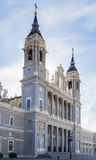 Almudena Cathedral, Madrid Royalty Free Stock Photography