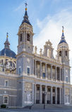Almudena Cathedral, Madrid Stock Photography