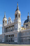 Almudena Cathedral, Madrid Stock Images