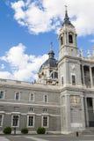 Almudena Cathedral a Madrid, Spagna Fotografie Stock Libere da Diritti