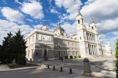 Almudena Cathedral a Madrid, Spagna Fotografia Stock Libera da Diritti
