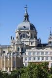 Almudena Cathedral a Madrid, Spagna Immagini Stock Libere da Diritti