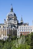Almudena Cathedral a Madrid, Spagna Immagini Stock