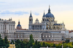 Almudena Cathedral, Madrid, Spain Royalty Free Stock Photo