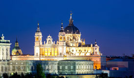 Almudena Cathedral, Madrid, Spain. Royalty Free Stock Photography
