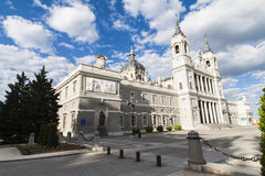 Almudena Cathedral at Madrid,Spain Royalty Free Stock Photo