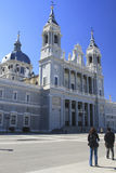Almudena Cathedral, Madrid, Spain Stock Photo