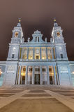 Almudena cathedral in Madrid, Spain. Stock Photo