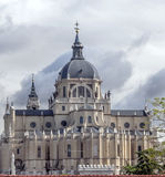 Almudena Cathedral Stock Image