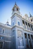 Almudena Cathedral, situato nell'area dei Habsbourg, classi Immagini Stock Libere da Diritti
