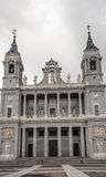 Almudena Cathedral Stock Images
