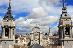 Almudena Cathedral Royalty Free Stock Photo