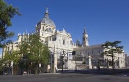 Almudena Katedra Zdjęcie Stock