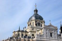 Almudena katedra Zdjęcie Royalty Free
