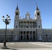 almudena katedra Madrid Fotografia Royalty Free