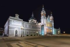 almudena katedralny Madrid Spain Obraz Royalty Free